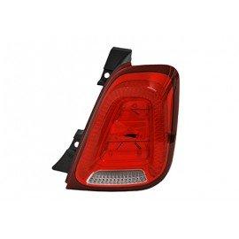 Feu arrière droit marque AL pour Fiat 500 Cabriolet