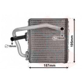 Radiateur de chauffage pour Subaru Forester de 1997 à 2002