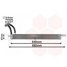 Radiateur d'huile de boite de vitesse pour Chevrolet Trax depuis 2013 version 1.4i/1.8i/1.7TD