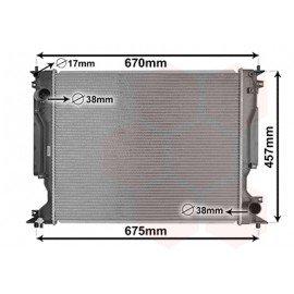 Radiateur moteur Diesel pour Lexus IS200D / IS 220D de oct 2005 à 2013