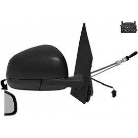 Rétroviseur gauche complet, manuel, noir pour Smart Fortwo d'après juil 2014