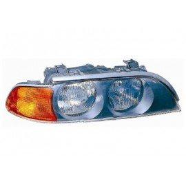 Phare droit H7+HB3 avec feu de direction orange, pour BMW serie 5 E39 d'avant sept 2000