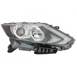 Phare avant droit H7+H11+LED avec moteur électrique pour Nissan Qashqai depuis 2014