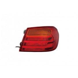 Feu arrière droit intérieur avec feux rouge LED avec porte ampoule avec clignoteur jaune pour Bmw Serie 4 avant mars 2017