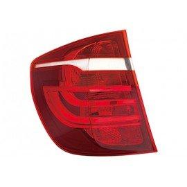 Feu arrière gauche sans partie électrique exterieur pour véhicule sans feux-Xenon sans porte ampoule, clignoteur jaune pour Bmw