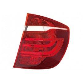 Feu arrière droit sans partie électrique exterieur pour véhicule sans feux-Xenon sans porte ampoule, clignoteur jaune pour Bmw X