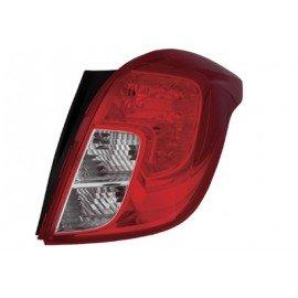 Feu arrière droit sans partie électrique, sans porte-ampoule avec clignoteur transparent pour Opel Mokka depuis Juin 2012
