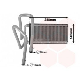 Radiateur chauffage pour Land rover Discovery 3 (2004-2008)