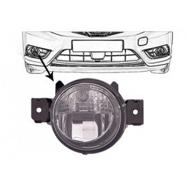 Feu anti brouillard gauche pour Nissan Pulsar E12 (depuis 10/2014)