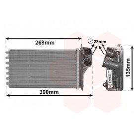 Radiateur chauffage pour Citroen C1 1.0i (06/2005 - 2014)
