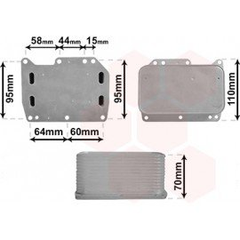 Radiateur d'huile pour moteur 2.3 CDTI pour Nissan NV400 (depuis 2010)