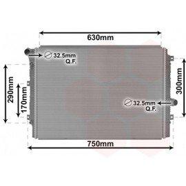 Radiateur moteur essence 1.4 pour Skoda Yeti (depuis 2014)