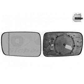 Miroir de rétroviseur gauche pour Bmw Série 7 E65 (11/2001 - 10/2008)