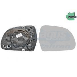 Miroir de rétroviseur droit pour Audi A8 (2002-2010)