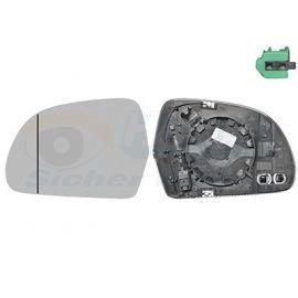 Miroir de rétroviseur gauche pour Audi A8 (2002-2010)