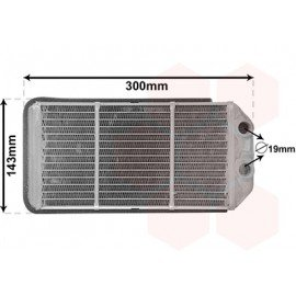 Radiateur chauffage pour Land Rover Discovery 2 (1994 - 2004)