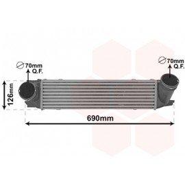 Intercooler moteur 2.0i / 2.8i pour Bmw X1 E84 (08/2012 - 2015)