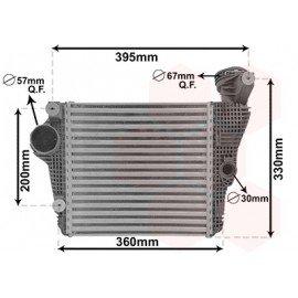 Intercooler droit pour Porsche Macan version 3.0 S / 3.0 GTS / 3.6 Turbo (depuis 02/2014)