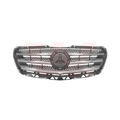 Grille de calandre Mercedes Sprinter W906 09/2013-2018 (avec baguettes chromées)