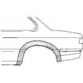 Arc d'aile gauche arrière 2 portes pour BMW série 6 E24 de 1976 à 1989