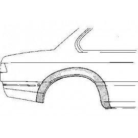 Arc d'aile droite arrière 2 portes pour BMW série 6 E24 de 1976 à 1989