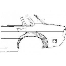 Arc d'aile arrière gauche pour Audi 80