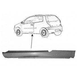 Bas de caisse gauche pour Fiat Punto modèle 3 portes