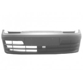 pare-chocs plastique noir sans anti-brouillard complet pour Fiat Seicento d'après décembre 2000