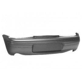 pare-chocs arrière plastique complet noir pour Fiat Seicento de 1998 à 2010