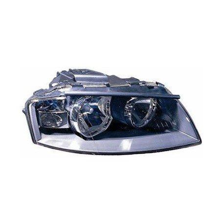 Phare droit H7+H7 incl. Moteur AL pour Audi A3 de 2003 à 2008