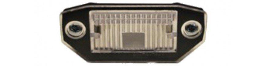 Pièces carrosserie Eclairage plaques d'immatriculation
