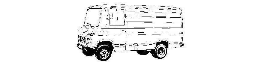 Pièces carrosserie MERCEDES 406-608