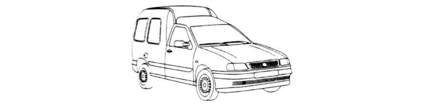 Pièces carrosserie SEAT INCA