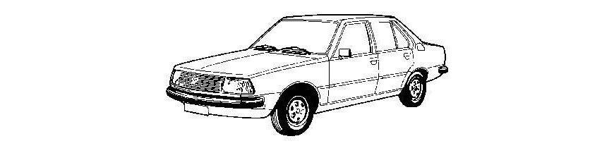 Pièces carrosserie RENAULT R18